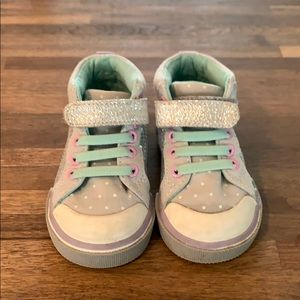 Baby high top sneakers
